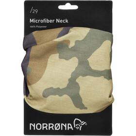 Norrøna /29 Microfiber Cuello, green camo
